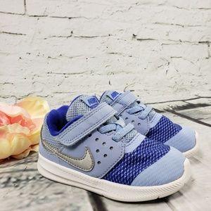 Nike Blue Sneaker Velcro Size 7 C